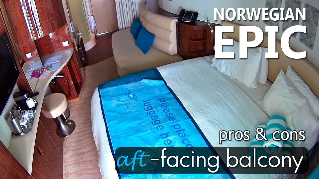 norwegian epic balcony room photos Norwegian Epic AFT Balcony Cabin Tour