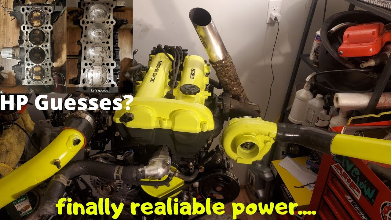Building A Forged 1.9L Miata Engine in 10 Minutes
