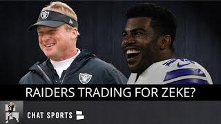 Oakland Raiders: Trade Rumors On Ezekiel Elliott & Karl Joseph + Tom Cable's Hot Seat & Hard Knocks