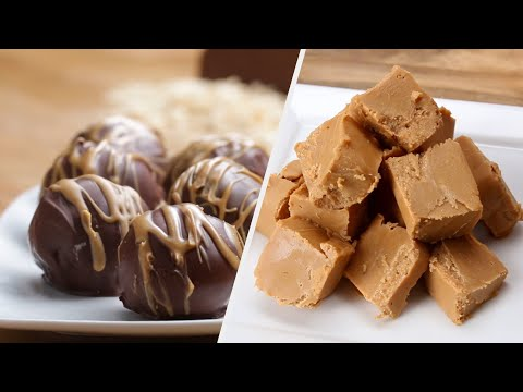 5 Quick & Easy Peanut Butter Treats • Tasty