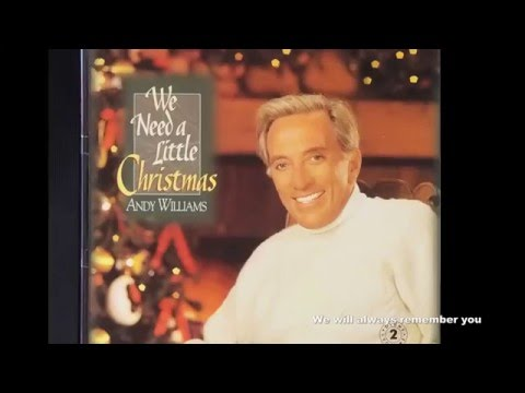 Andy Williams Christmas Album △We Need a Little Christmas-1995 ...