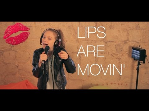 Meghan Trainor - Lips Are Movin - cover by 11 year old Sapphire ft. Skye