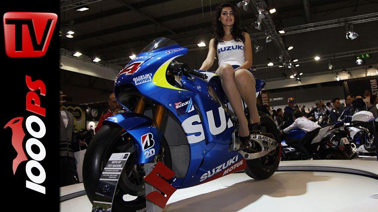Suzuki Motorrad Neuheiten 2014