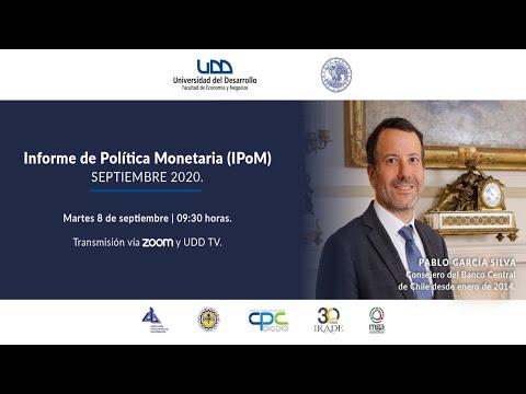 Presentación IPoM septiembre 2020