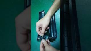 Compatible HP 17A CF217A HP 30X CF230X Black Toner Cartridge installation Guide
