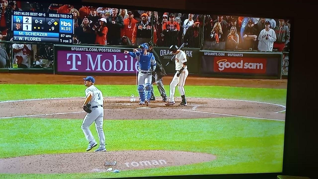 Max Scherzer, Los Angeles Dodgers finish off San Francisco Giants ...