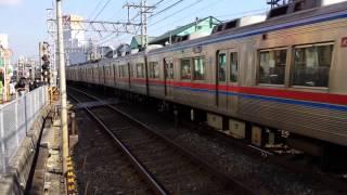 京成電鉄 3600形 志津駅通過