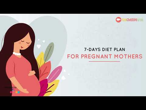 Pregnancy Diet | Healthy Food during Pregnancy | Weekly Diet Plan of Pregnant Woman
