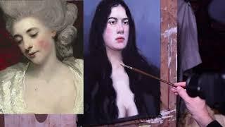 #portrait#painting #15 last lesson how to finish a portrait