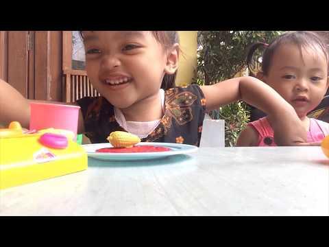 Alesha Go Shopping | Eating KFC Chicken | KiDS VLOG 01