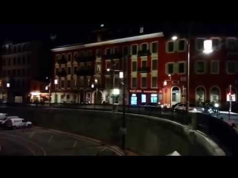 Nice - le Port un soir de Fevrier