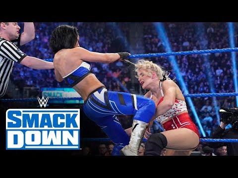Lacey Evans \u0026 Dana Brooke vs. Sasha Banks \u0026 Bayley: SmackDown, Dec. 27, 2019