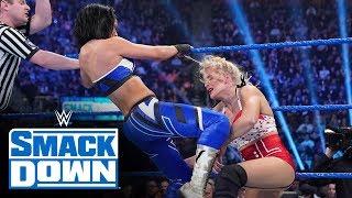 Lacey Evans & Dana Brooke vs. Sasha Banks & Bayley: SmackDown, Dec. 27, 2019