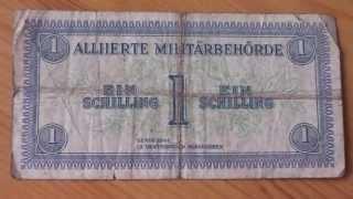 Alliierte Militärbehörde - 1 Schilling der Serie 1944 in HD