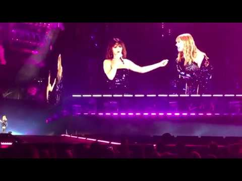 "Taylor Swift & Selena Gomez Perform ""Hands To Myself"" on The Reputation Stadium Tour!"