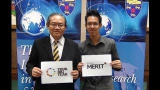Your Big Year 2013 - Prof. Tan Sri Dr. Ghauth Jasmon (Malaysia)