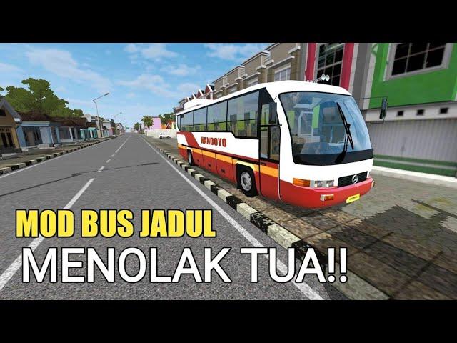 BUSSID Mod bus Capsul - Bus tempo dulu yang menolak punah!