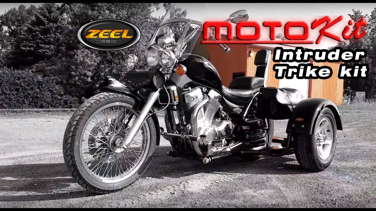 Suzuki Intruder 1400 trike kit-MOTOKIT ZEEL DESIGN