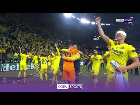 CRAZY celebrations as Villarreal are crowned Europa League champions 🏆 | UEL 20/21 Moments
