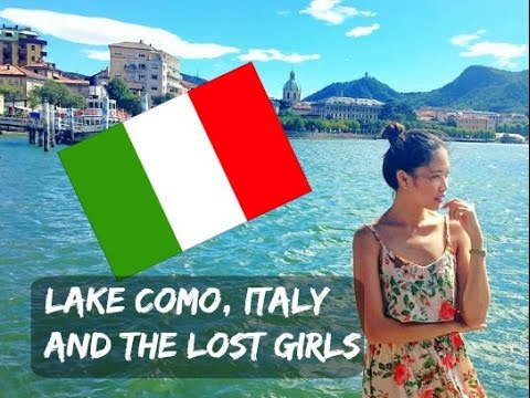 VLOG #21:  LAKE COMO, ITALY & THE LOST GIRLS |MISSKAYKRIZZ ♥