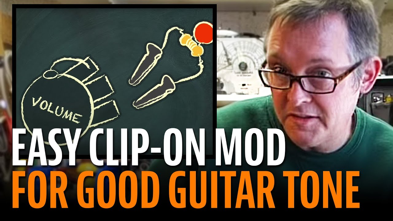good guitar tone from 0 10 easy clip on mod youtube. Black Bedroom Furniture Sets. Home Design Ideas