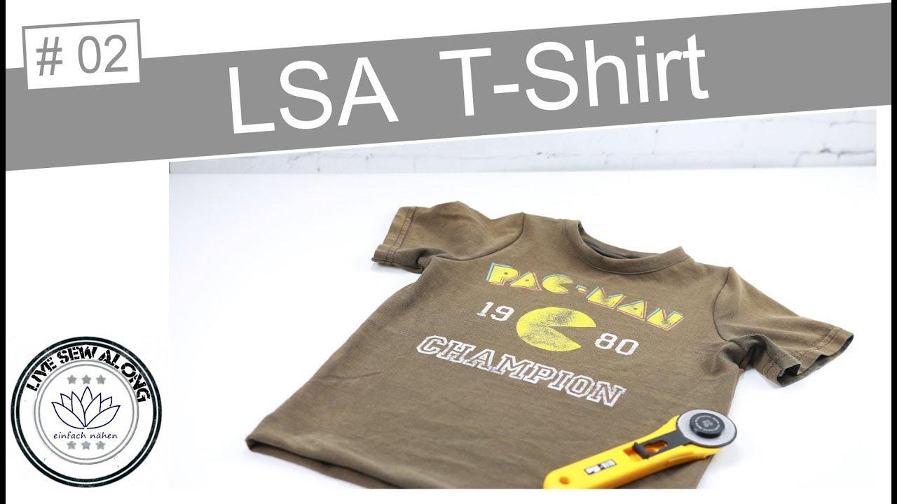 Livesewalong | upcycling T-Shirt nähen - mit Anna von einfach nähen ...