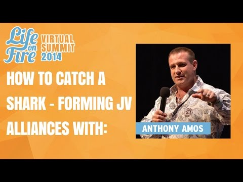 How to Catch a Shark - Anthony Amos on Strategies to Form JV Alliances