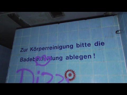 Verlassene Orte Berlin - DDR - Schwimmhalle Pankow