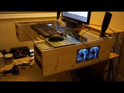 Modular PC Desk build demo (Prototype)