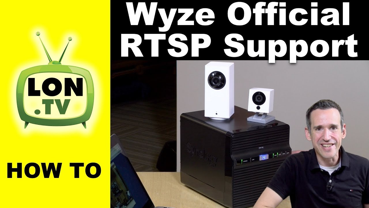 How to Set Up Wyze Official RTSP Firmware : Use Wyze Cams with Network DVRs!