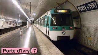Porte d'Ivry | Ligne 7 : Métro de Paris ( RATP MF77 )