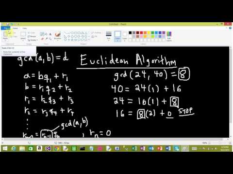 Modular Arithmetic, Division Algorithm, and Euclidean Algorithm