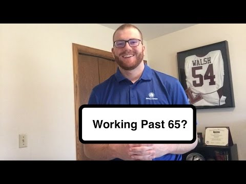 Medicare Update: Working Past 65