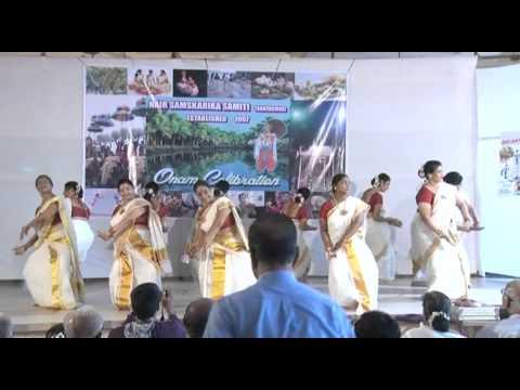 "NSS - Santacruz - Mumbai Onam Celebrations 2012 - ""Kaikottikkali"""