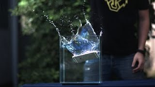 iPhone 6 Plus SlowMo Drop Test at 35,000 FPS