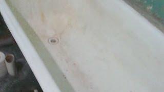 Реставрация Старой ванны!(Что можно сделать из старой, ржавой, сколотой ванны? Много интересных тем, как: кухня, хандмэйд, советы и..., 2014-04-13T13:03:15.000Z)