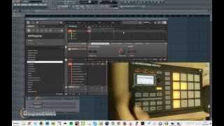 Secuenciador por pasos Native instruments Maschine Mikro en Fl Studio