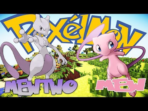 PIXELMON I CAUGHT AN MYTHICAL POKEMON MEW AND USED CLONING MACHINE TO EVOLVE IT TO MEWTWO !