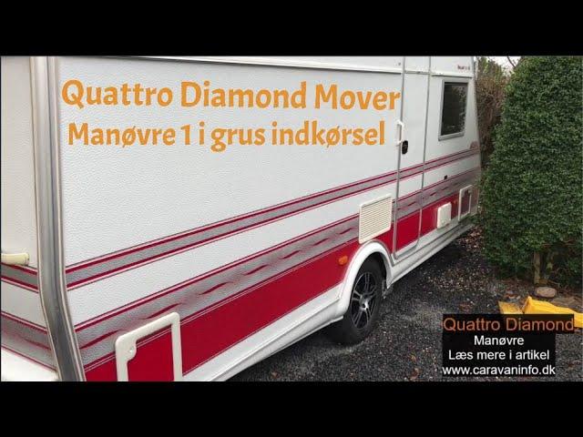 Quattro Diamond Mover - Manøvre 1 i granitskærver indkørsel
