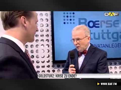 Invest 2013: Dr. Polleit - Goldpreis hat Boden gefunden