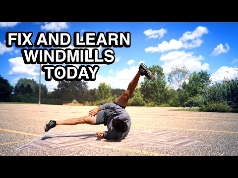 Learn How to Windmill Today - 3 Common Problems Easily Fixed