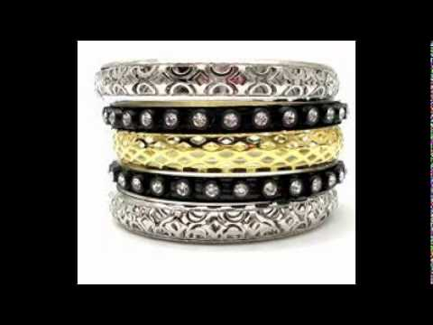 gold women kada cz fashion handmade pearl latest bracelets images bollywood bangles ethnic bracelet on best new indian