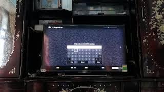 Khắc phục sửa lỗi tivi Sonny không vào được Youtube