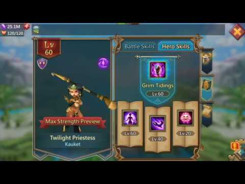 Twilight Priestess - Lords Mobile Guide To Greatness #16