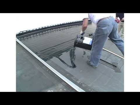 Manual Application Guidelines For Liquid Rubber And Liquid Roof a EPDM coating.