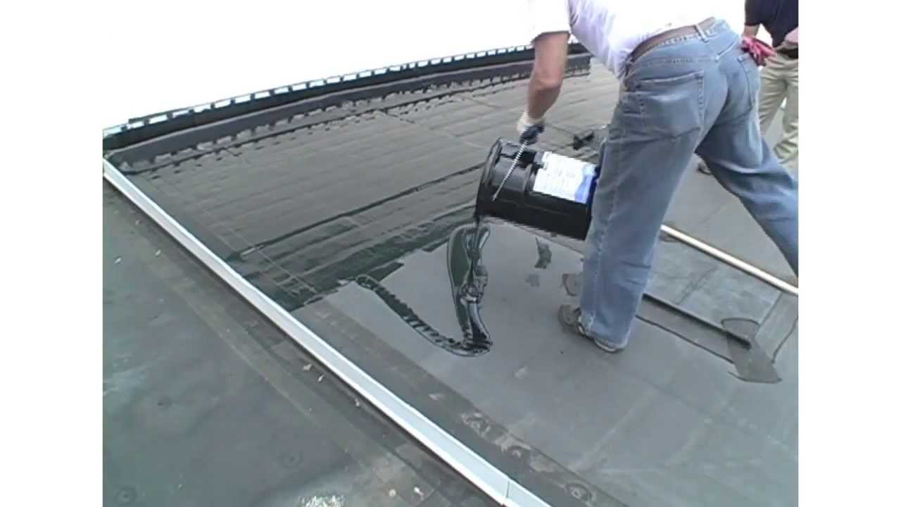 Manual Application Guidelines For Liquid Rubber And Liquid Roof A EPDM  Coating.   YouTube