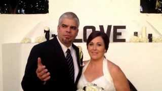 Anthony and Trisha gave me a great testimonial for their wedding at the Casino in San Clemente