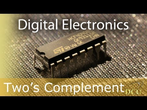 Digital Electronics: The 2's Complement
