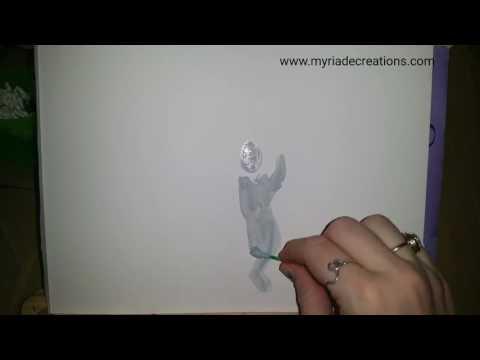 """Atelier """"Découvrir Sa créativité"""" 18.02.17 Gomme liquide et techniques de couleurs à l'eau"""