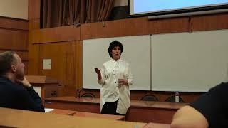 Лекция Галины Юзефович в МГИМО  I Её профессия